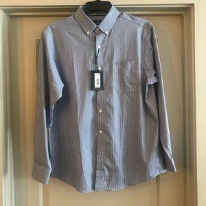 Men's Button Down Dress Shirt Hart Schaffner Marx